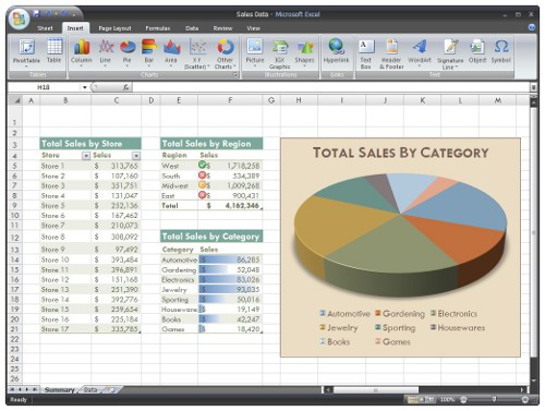 Microsoft Excel 2007 Online Training Course