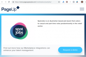 SpotED is trying to make money in Short Training Courses vs compete with Seek for Casual, Temp and part time accounts jobs